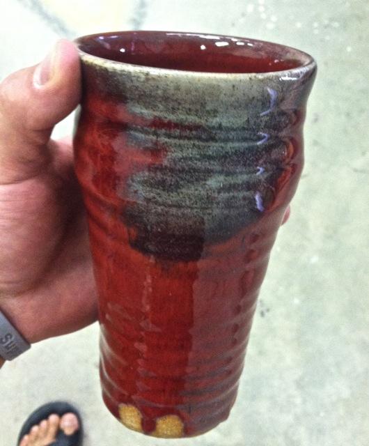 Copper Red Glaze Joel Cherrico Pottery