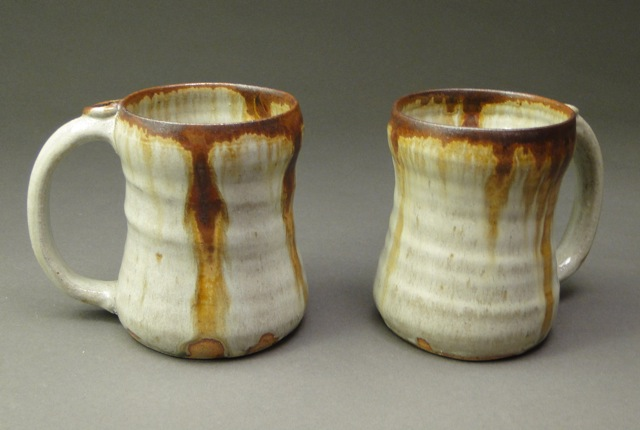 Glazing handmade ceramics at cone 10 painting with fire for How to paint ceramic mugs at home