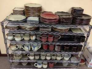 Up Cafe, Handmade Ceramic Pottery stock