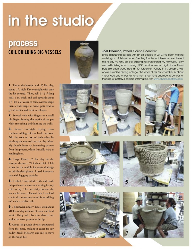 Page 3, Potters Pages, Potters Council 2013