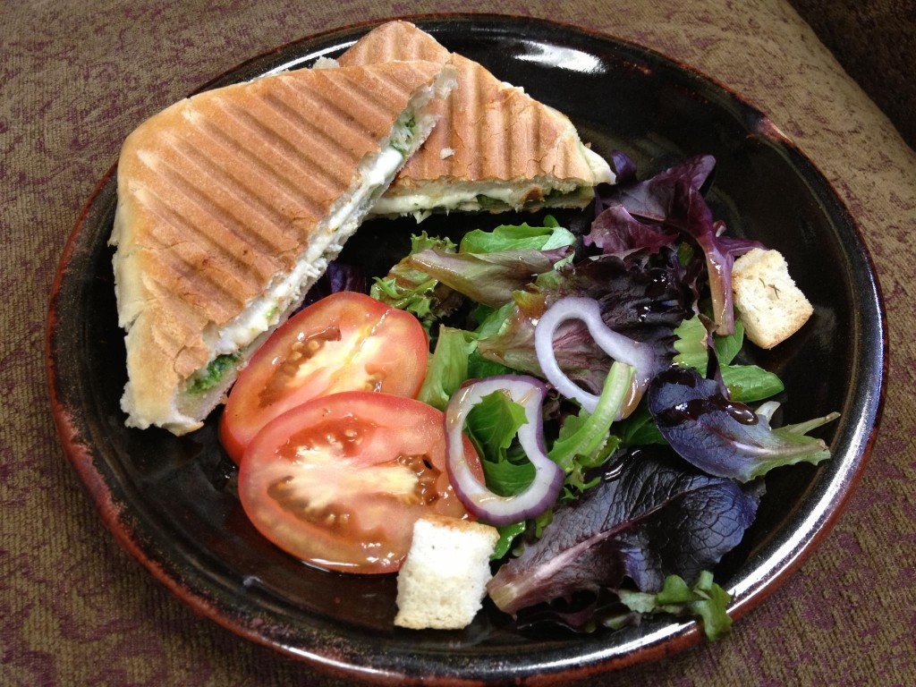 Up Cafe Minneapolis, Lunch served from Stoneware Pottery