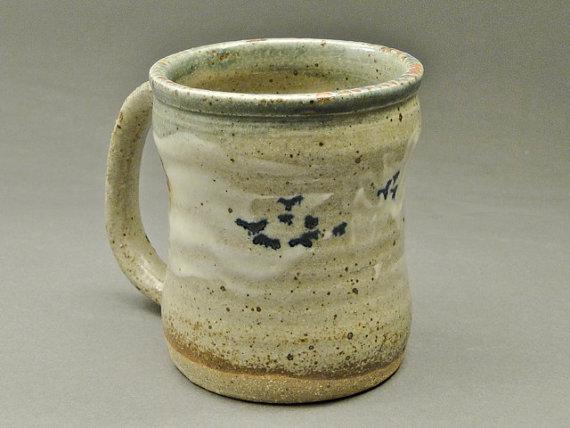 Landscape Mug, Stoneware Clay, Joel Cerrico Pottery, 2014