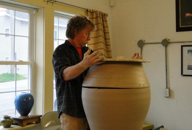 Bill Gossman Pottery, Athletic Potter, Joel Cherrico Pottery, 2014