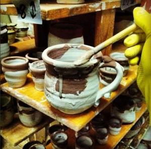 Pottery Alchemy, Glaze Layering, Joel Cherrico Pottery, 2014