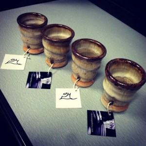Joel Cherrico Pottery, Shot Cups, Innovative Marketing