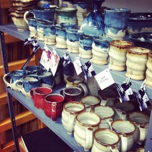 Joel Cherrico Pottery, Shot Cups and Mugs, Innovative Marketing
