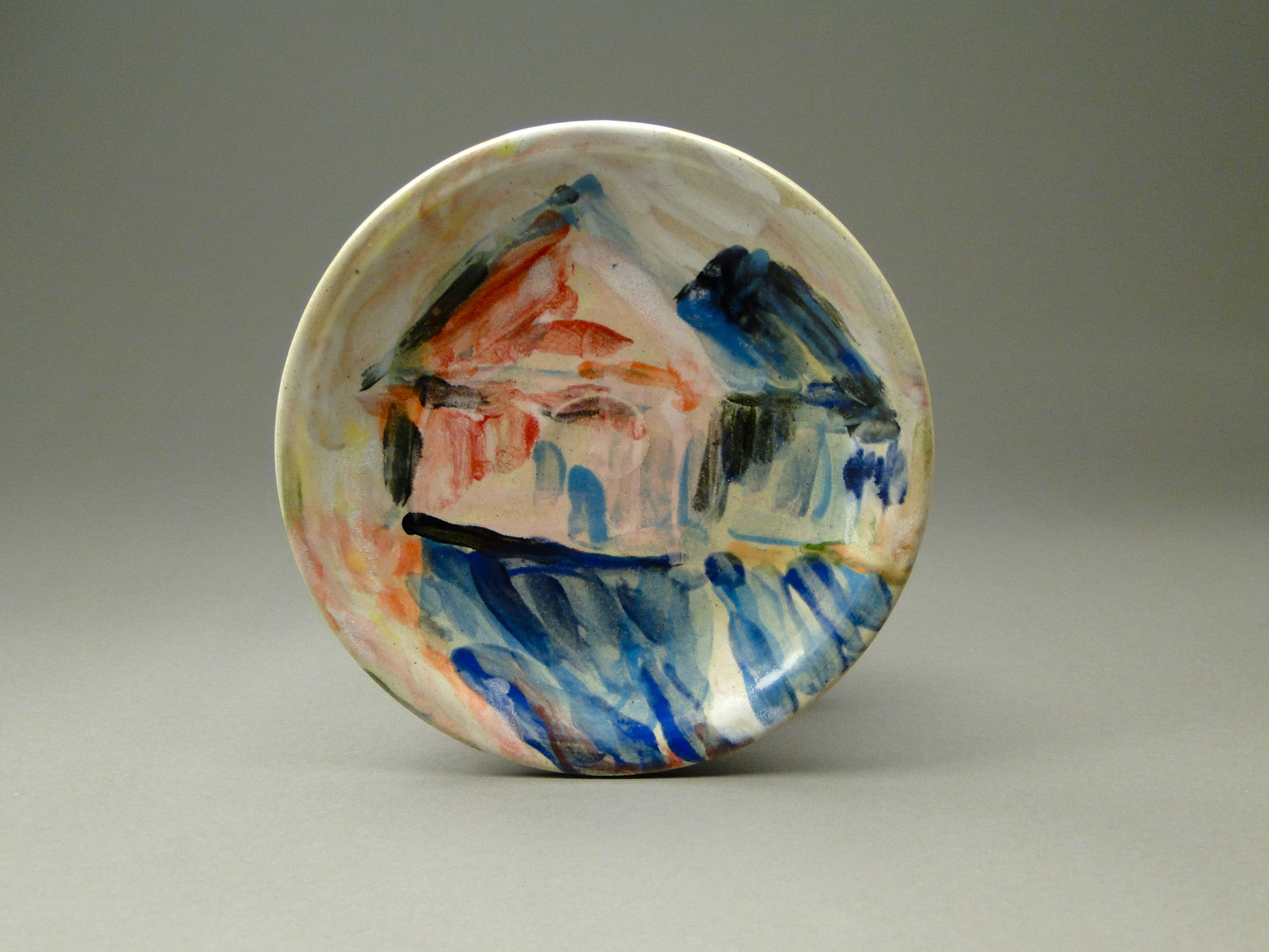 Painted Stoneware, Paige Dansinger, Artist Collaboration