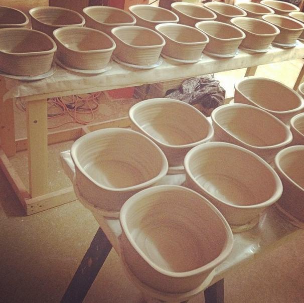 Casserole Bakers, Joel Cherrico, Stoneware Bakers