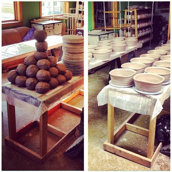 Handmade Casserole Bakers, Joel Cherrico, Stoneware Bakers