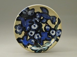 Painted Pottery, Paige Dansinger, Joel Cherrico Pottery, 2014