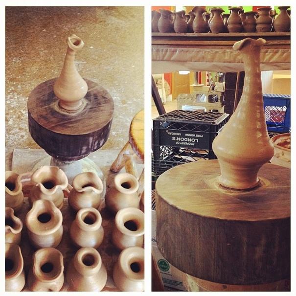 Prairie Fire Pottery, Joel Cherrico Pottery, Stoenware vases
