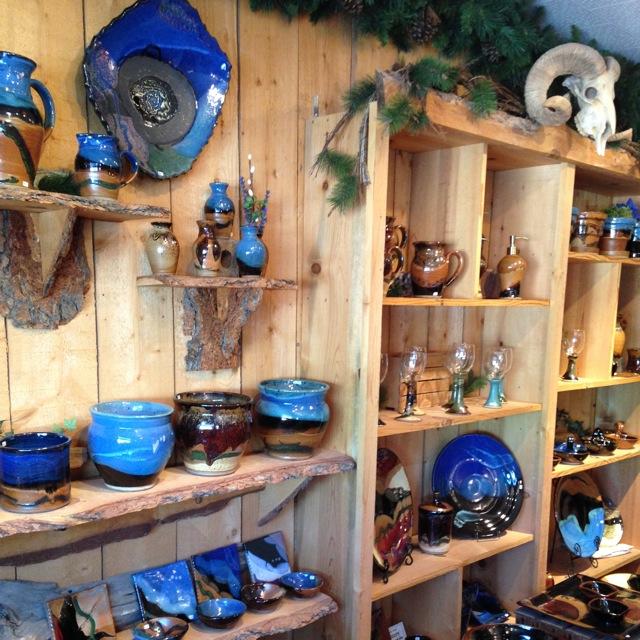 Prairie Fire Pottery, Showroom, Beach, North Dakota Pottery