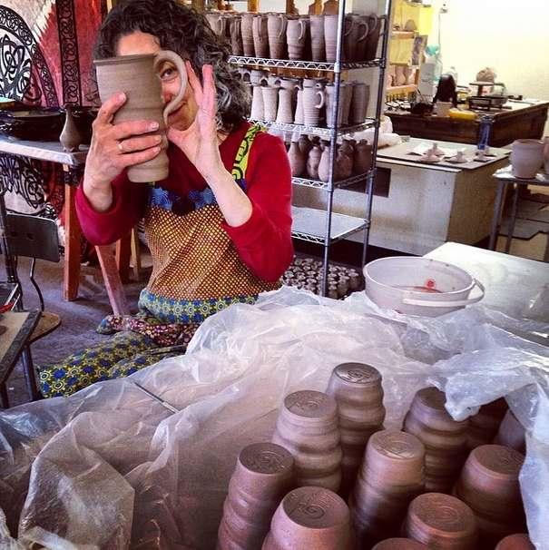 Tama Smith, Prairie Fire Pottery, Joel Cherrico Pottery, 2014