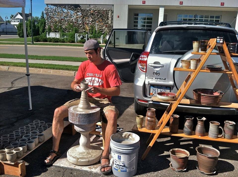Joel Cherrico Farmers Market Pottery