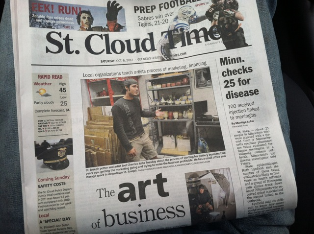 Image 1, St. Cloud Times Article, Joel Cherrico
