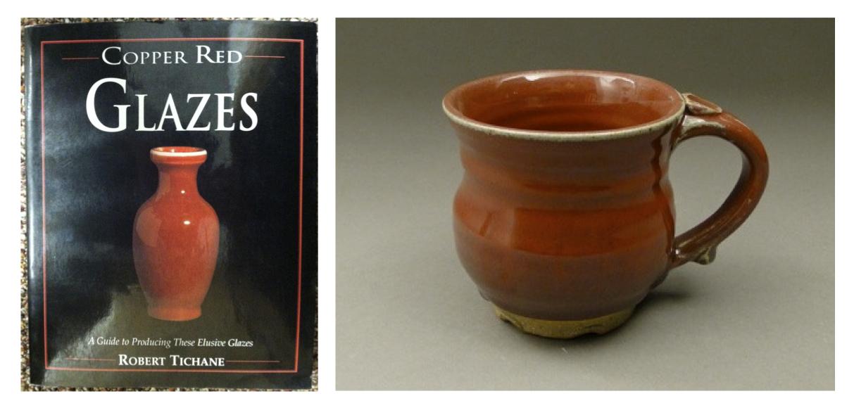 copper red glazes pottery robert tichane cherrio pottery