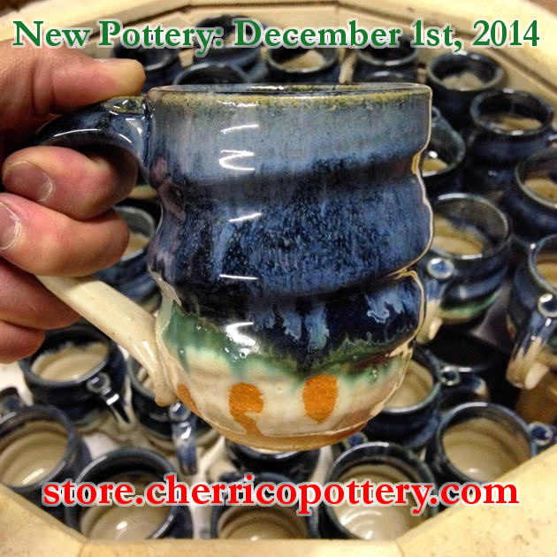 Image 5, Handmade Ceramic Pottery, mug, Cherrico Pottery, Online Christmas Sale, 2014