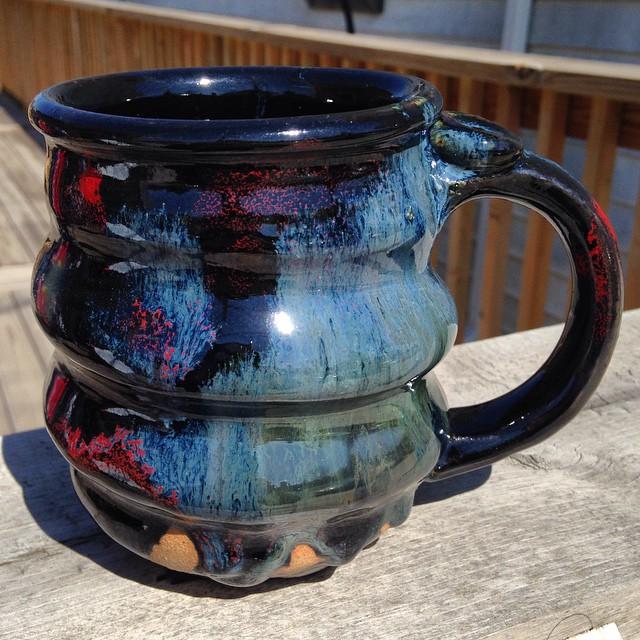 Cosmic Mug, Cherrico Pottery, 2015