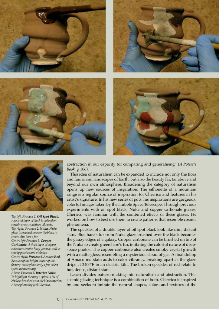 Uniting Potters and the Public through the Cosmos, Cherrico Pottery, Marissa Deml, Cosmic Mugs, Page 3
