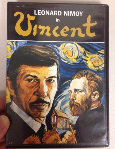 Leonard Nimoy in Vincent, Joel Cherrico Pottery Blog, my DVD