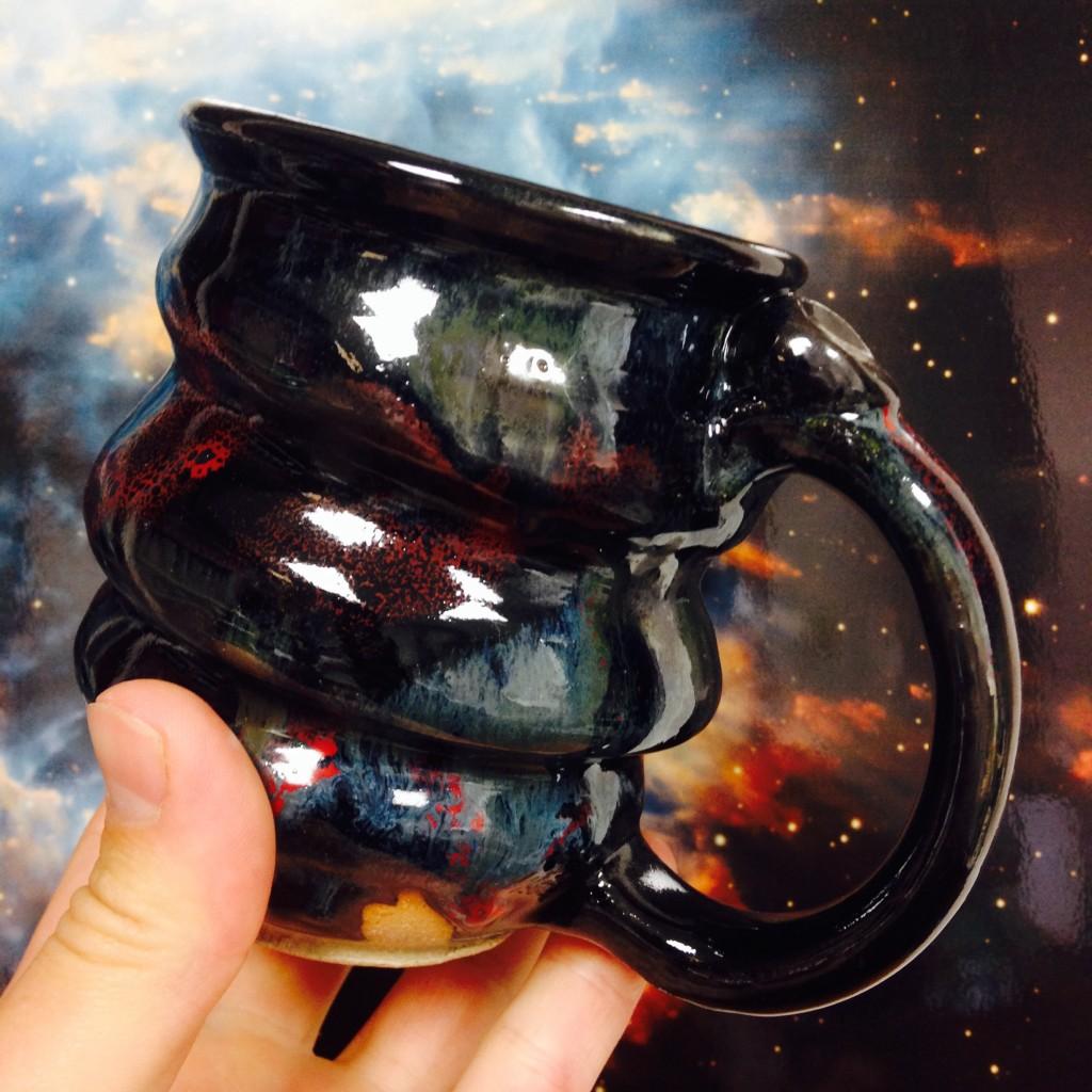 10.2.15 Cosmic Mug, Cherrico Pottery