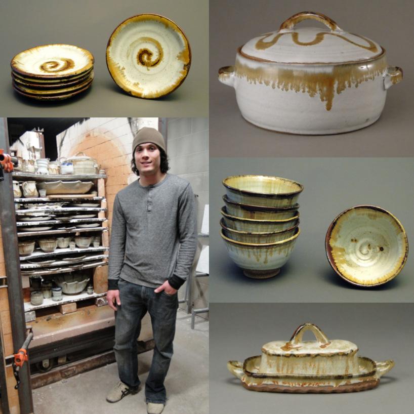 Cosmic Dinnerware Collage