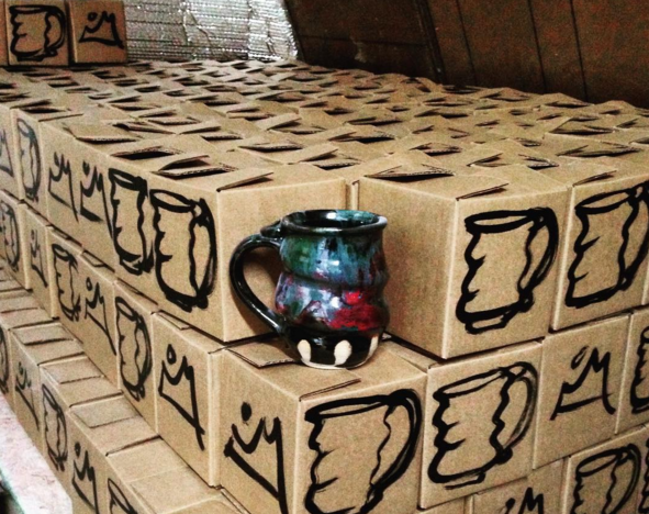 Cosmic Mug Boxes, Cherrico Pottery