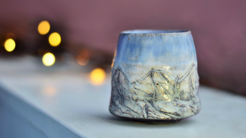 Mountain Cup, Cherrico Pottery, Julia Eckart
