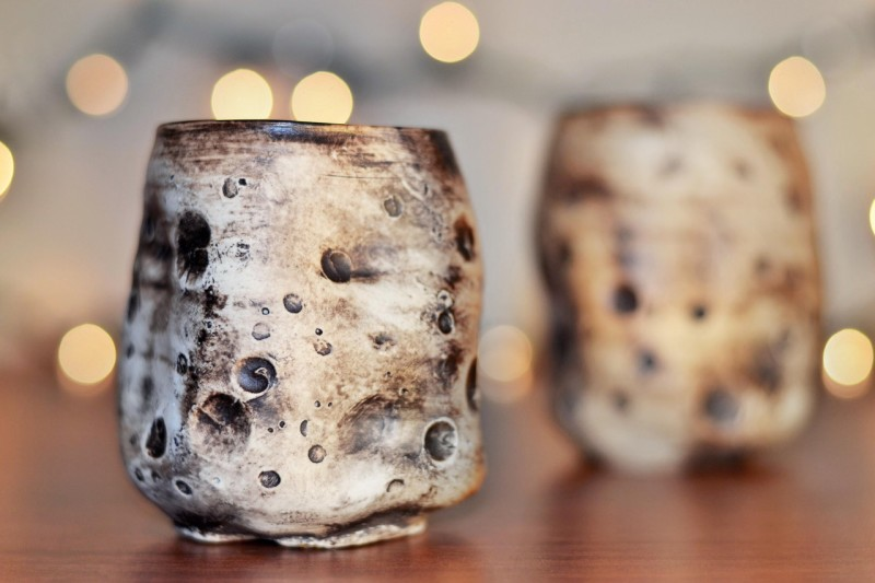 asteroid- Cup Cherrico Pottery, Julia Eckart