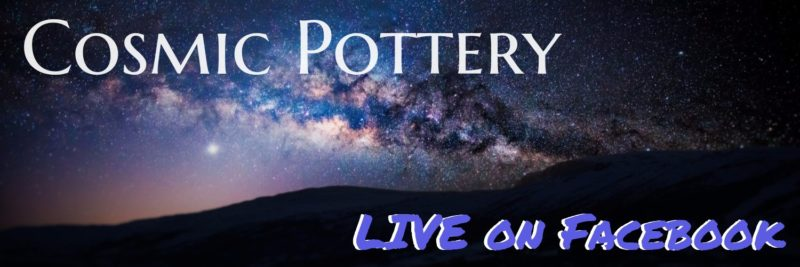 Cherrico Pottery Live on Facebook Cosmic Pottery