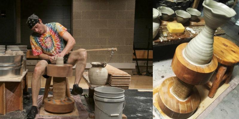 The Art Of Throwing Pottery On A Kick Wheel Joel